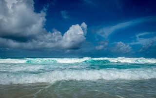Моря и океаны, омывающие берега Австралийского континента