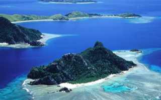 Малые и большие острова Атлантического океана