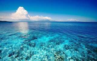 Самый большой и глубокий океан на Земле