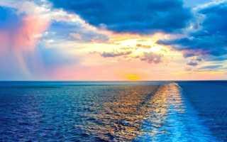 Климатические пояса, в которых располагается Атлантический океан