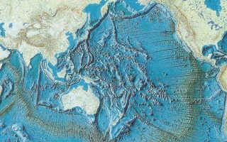 Особенности строения дна Тихого океана