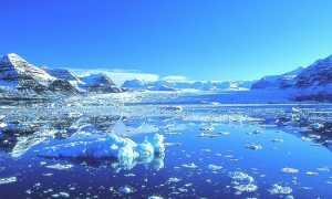 Характеристики Северного Ледовитого океана