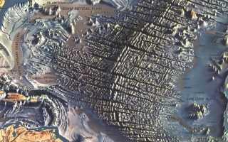 Геологическое строение и рельеф дна Атлантического океана