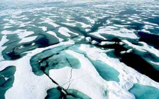 Заливы, моря и проливы Северного Ледовитого океана