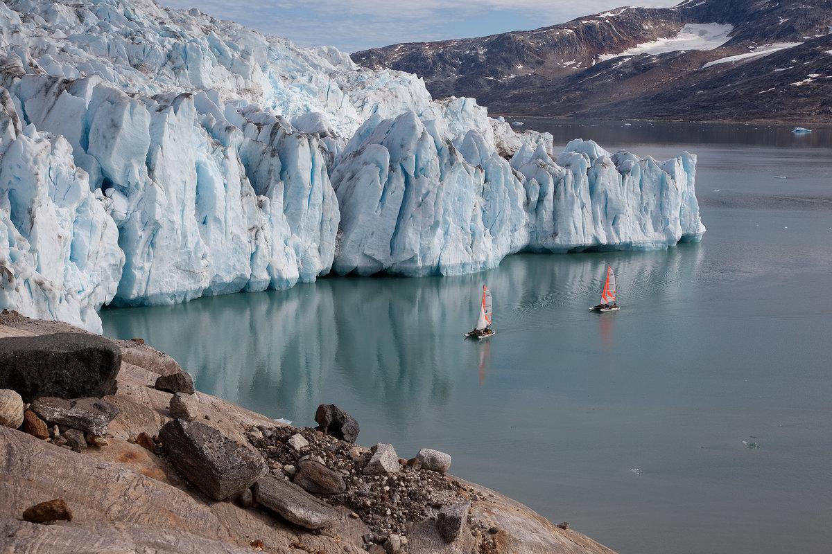 Гренландия берег