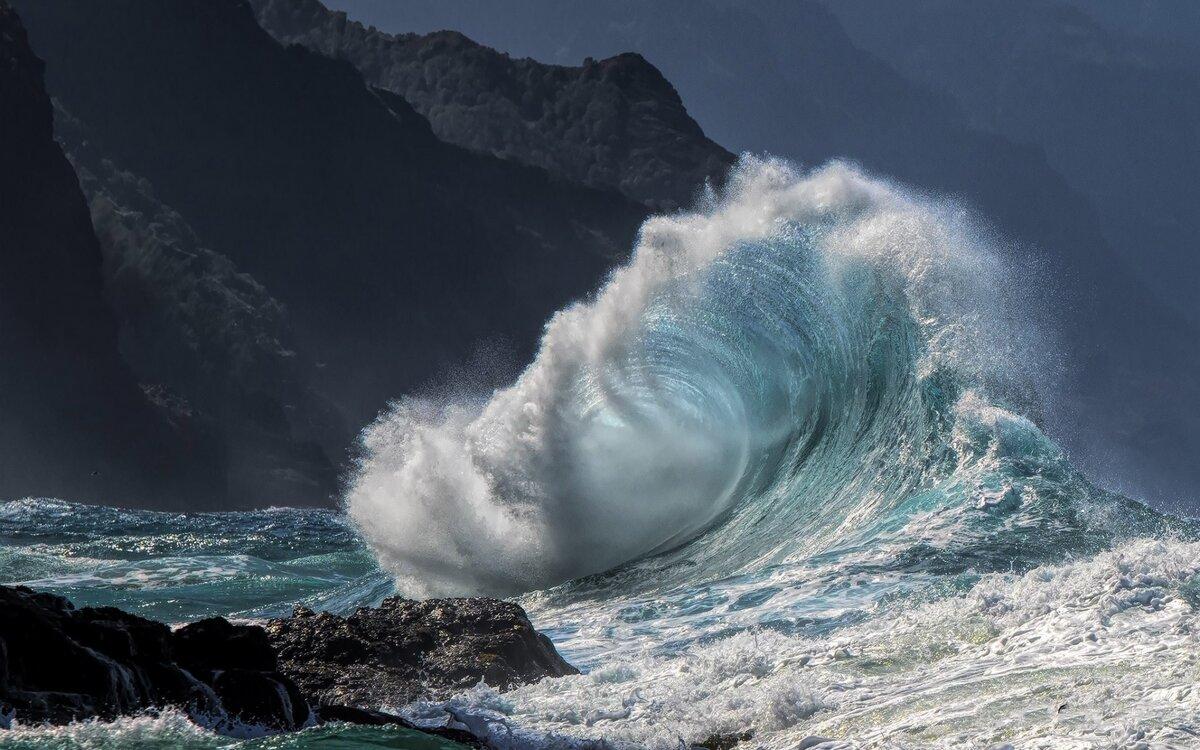 Волна в океане