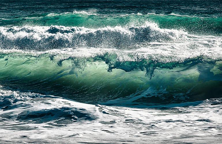 Большая скорость волн