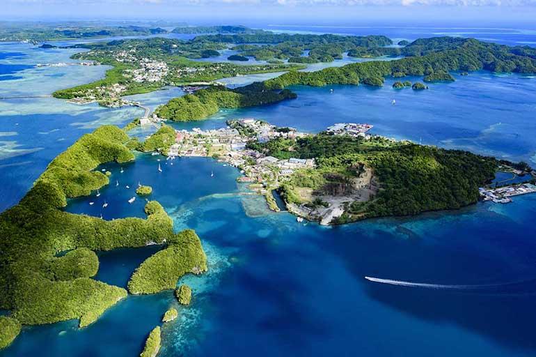 Количество островов